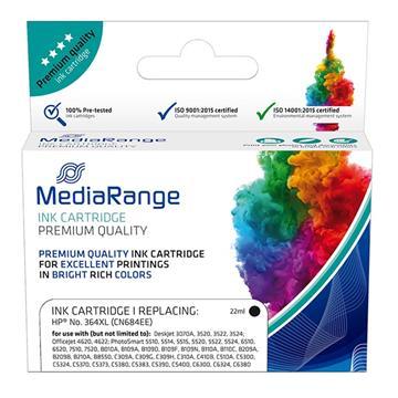 Εικόνα της Συμβατό Μελάνι Mediarange για Εκτυπωτές HP No 364XL Black CN684EE MRHP364BKXL