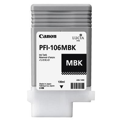 Εικόνα της Μελάνι Canon PFI-106MBK Matte Black 6620B001