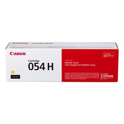 Εικόνα της Toner Canon 054H Yellow HC 3025C002