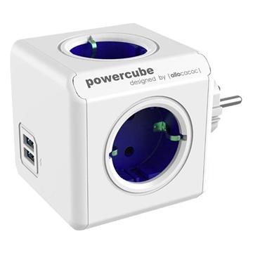 Εικόνα της PowerCube Allocacoc USB Original Blue 1202BL/DEOUPC