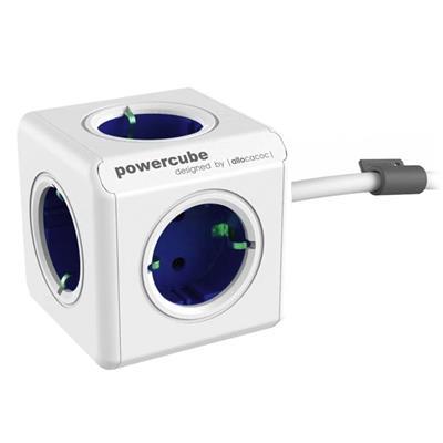 Εικόνα της PowerCube Allocacoc Original Extended Blue 1.5m 1306BL/DEEXPC