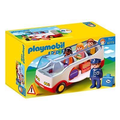 Εικόνα της Playmobil 1.2.3 - Πούλμαν 6773