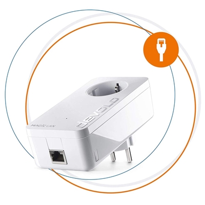Εικόνα της Powerline Devolo Magic 1 LAN Passthrough Single 8294