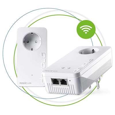Εικόνα της Powerline Devolo Magic 1 WiFi Passthrough Starter Kit 8366