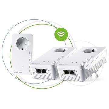 Εικόνα της Powerline Devolo Magic 1 WiFi Passthrough Multiroom Kit 8374