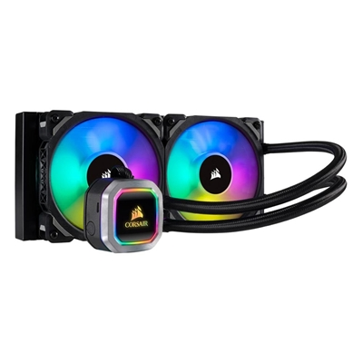 Εικόνα της Corsair Hydro Series H100i Pro RGB Platinum 240mm CW-9060039-WW