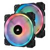 Εικόνα της Case Fan Corsair LL140 140mm RGB Dual Light Loop PWM 2-Pack w Lighting Node Pro CO-9050074-WW