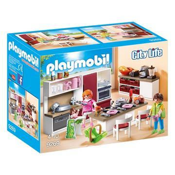 Εικόνα της Playmobil City Life - Μοντέρνα Κουζίνα 9269