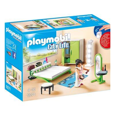 Εικόνα της Playmobil City Life - Μοντέρνο Υπνοδωμάτιο 9271