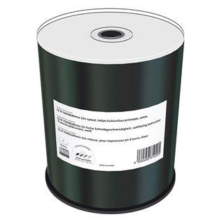 Εικόνα της CD-R 700MB 80' Inkjet Fullsurface Printable 52x MediaRange Cake Box 100 Τεμ MR203