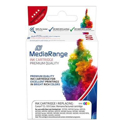 Εικόνα της Συμβατό Μελάνι Mediarange για Εκτυπωτές Canon CL-513 Colour MRCC513CMY
