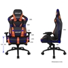 Εικόνα της Gaming Chair Anda AD12 XL v2 Black-Orange AD12XL-03-BO-PV-O04