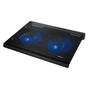 """Εικόνα της Cooling Stand Trust Azul with Dual Fans 17.3"""" 20104"""