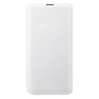 Εικόνα της Samsung LED Wallet Cover για το Samsung Galaxy S10e White EF-NG970PWEGWW