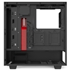 Εικόνα της NZXT H510i Matte Black/Red Tempered Glass Window CA-H510i-BR