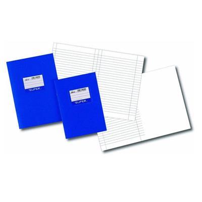 Εικόνα της Τετράδιο Πλαστικό Ριγέ SKAG Super 17x25cm 50 Φύλλα 110044