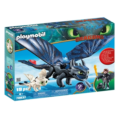 Εικόνα της Playmobil Dragons - Ο Φαφούτης κι ο Ψάρης με ένα Δρακούλη 70037