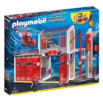 Εικόνα της Playmobil City Action - Μεγάλος Πυροσβεστικός Σταθμός 9462