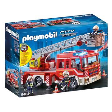 Εικόνα της Playmobil City Action - Όχημα Πυροσβεστικής με Σκάλα και Καλάθι Διάσωσης 9463