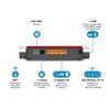 Εικόνα της Modem Router Avm Fritz! Box 7530 AC900 Dual Band 10/100/1000Mbps (20002845)