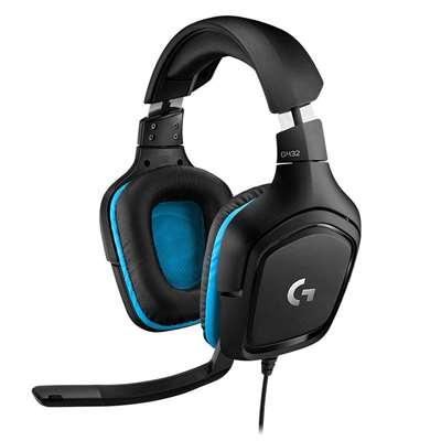 Εικόνα της Headset Logitech G432 Black 981-000770