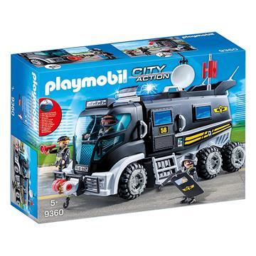 Εικόνα της Playmobil City Action - Θωρακισμένο Όχημα Ομάδας Ειδικών Αποστολών 9360