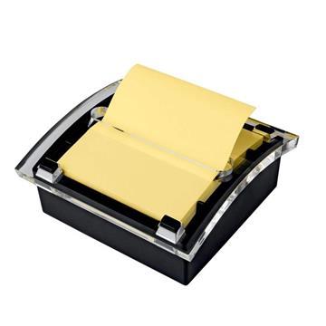 Εικόνα της Βάση Post it Z-Notes με Βεντούζα + 2 Pads Z-Notes Κίτρινα MMMVD300CY