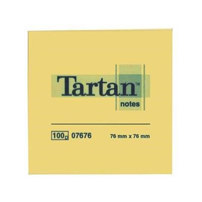 Εικόνα της Αυτοκόλλητα Χαρτάκια 3M Tartan Κύβος 400 φύλλων 76x76mm MMM7676400