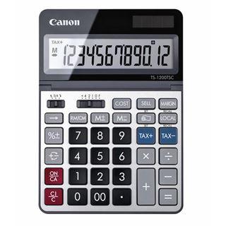 Εικόνα της Αριθμομηχανή 12 Ψηφίων Canon TS-1200TSC DBL 2468C002AA