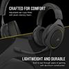 Εικόνα της Headset Corsair HS60 Pro Yellow (iCue Comp) CA-9011214-EU