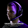 Εικόνα της Headset Corsair Void 7.1 Elite Surround Carbon CA-9011205-EU