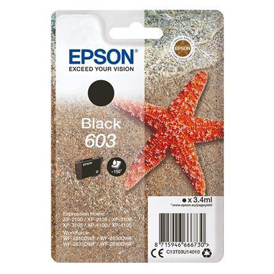 Εικόνα της Μελάνι Epson 603 Black C13T03U14010