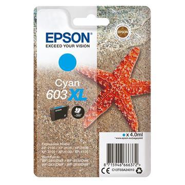 Εικόνα της Μελάνι Epson 603XL Cyan C13T03A24010