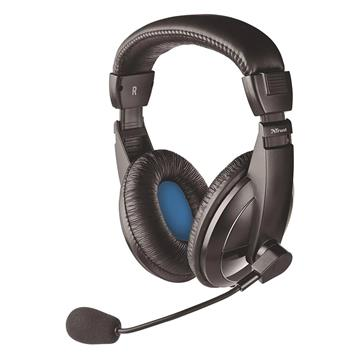 Εικόνα της Headset Trust Quasar PC Black 21661