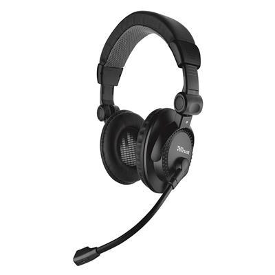 Εικόνα της Headset Trust Como Black 21658