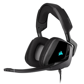 Εικόνα της Headset Corsair Void RGB 7.1 Elite Surround Carbon CA-9011203-EU