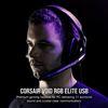 Εικόνα της Headset Corsair Void RGB 7.1 Elite Surround Carbon CA-9011203-EU