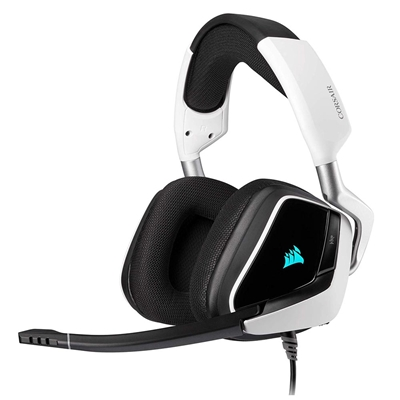 Εικόνα της Headset Corsair Void RGB 7.1 Elite Surround White CA-9011204-EU