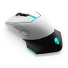 Εικόνα της Ποντίκι Alienware Wired/Wireless AW610M Lunar Light 545-BBCN