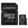 Εικόνα της Κάρτα Μνήμης MicroSDXC Class 10 Kingston Canvas Select Plus 100R A1 128GB + SD Adapter SDCS2/128GB