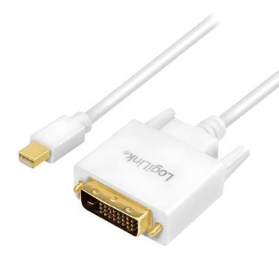 Εικόνα της Καλώδιο Logilink Mini DisplayPort(Female) to DVI-D(Male) 1.8m CV0137