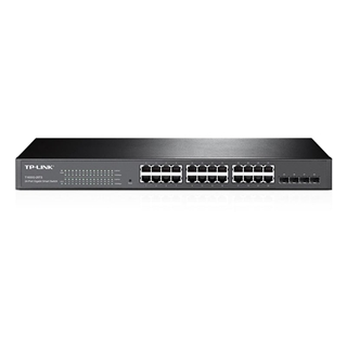 Εικόνα της Switch Tp-Link T1600G-28TS v3 Smart Manage 24 port 10/100/1000Mbps (TL-SG2424)