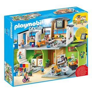 Εικόνα της Playmobil City Life - Επιπλωμένο Σχολικό Κτίριο 9453