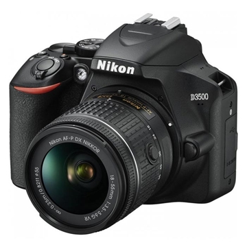 Εικόνα της Nikon D3500 Black Kit + AF-P 18-55mm DX VR