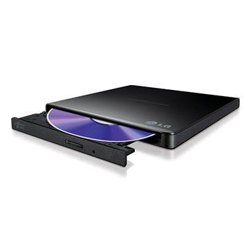 Εικόνα της External USB DVD+/-RW Slim Drive LG Black GP57EB40