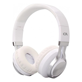 Εικόνα της Headset Crystal Audio BT-01 Bluetooth Over-Ear White-Silver