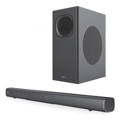 Εικόνα της Soundbar Crystal Audio CASB320 Bluetooth 2.1 with Wireless Subwoofer 320W