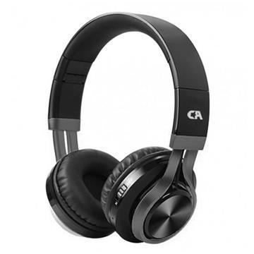 Εικόνα της Headset Crystal Audio BT-01 Bluetooth Over-Ear Black-Gunmetal