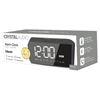 Εικόνα της Wireless Alarm Clock Speaker Crystal Audio BTC2G Grey