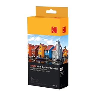 "Εικόνα της Kodak KODMC30 - All-in-One Cartridge Set 2.1 x 3.4"" για Photo Printer Mini 2 & Mini Shot - 30 φύλλα"